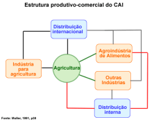 Estrutura produtivo-comercial do Complexo Agroindustrial