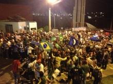 Manifestação em Cuiabá